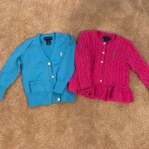 Toddler Ralph Lauren Cardigan Sweaters